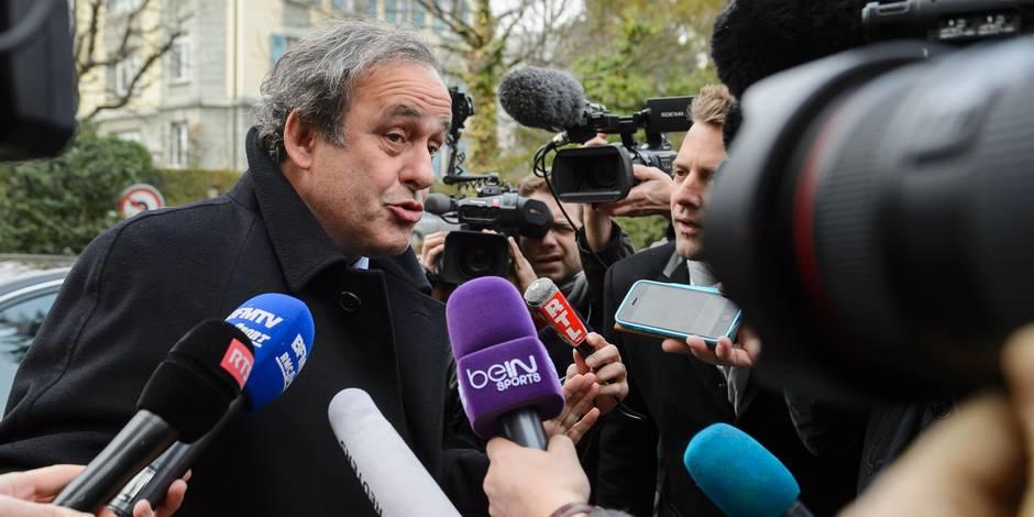 Michel Platini va démissionner de son poste de président de l'UEFA