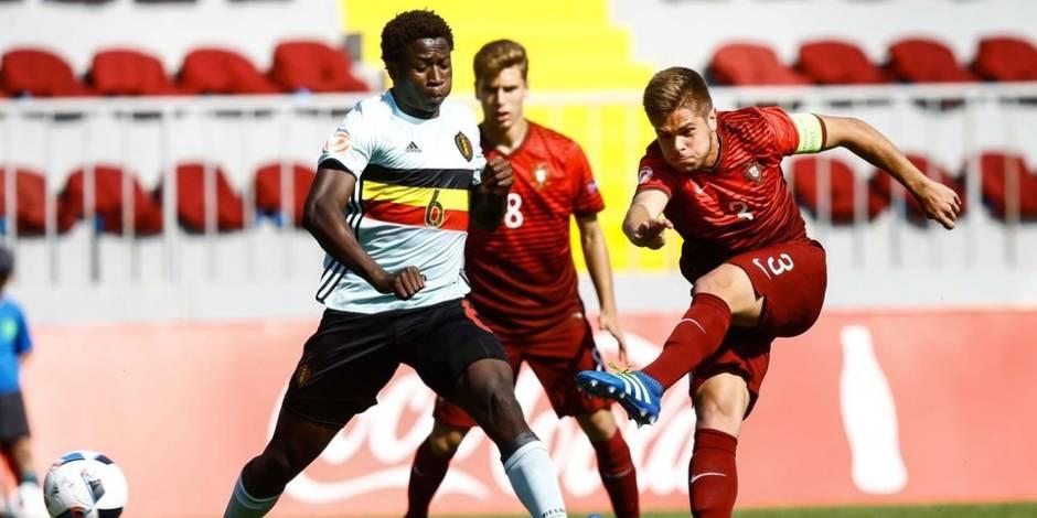 Euro U17: la Belgique partage face au Portugal et va en quarts de finale