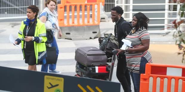 Grève à Brussels Airport: une quarantaine de vols touchés, le mouvement devrait encore durer plusieurs heures - La Libre