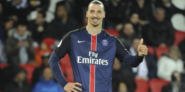 """Zlatan Ibrahimovic quitte le PSG: """"Je suis arrivé comme un roi, je pars comme une légende"""" - La Libre"""
