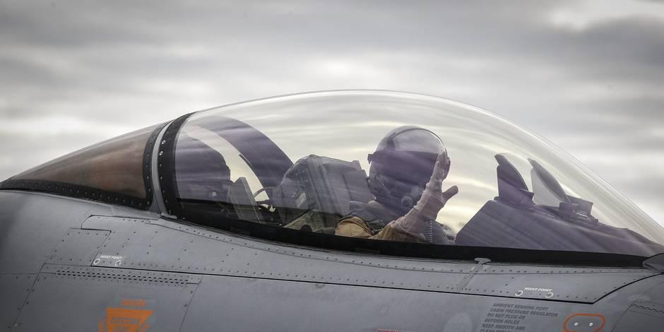 Conflit en Syrie: Le gouvernement décide d'élargir à la Syrie le mandat des F-16