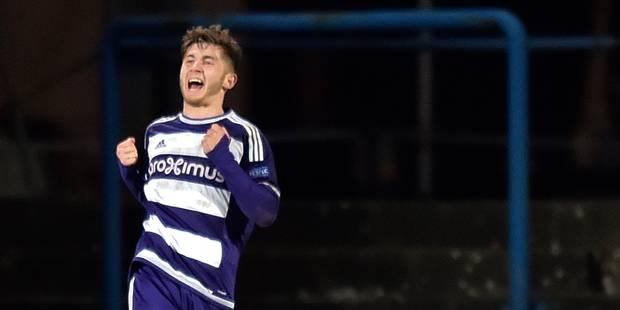 Anderlecht offre un contrat pro à Antoine Bernier, 18 ans - La Libre