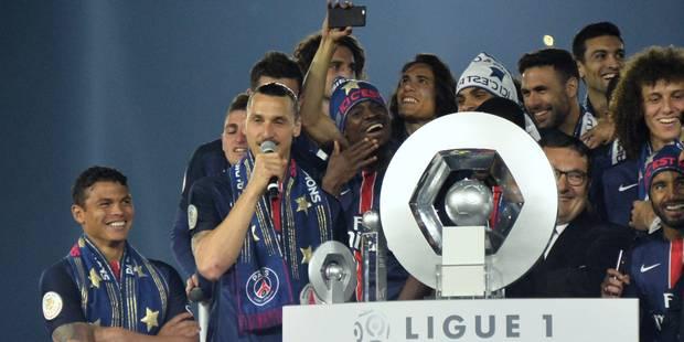 """Ibrahimovic: """"J'espère que Paris gagnera des titres sans 'Ibra', même si ce sera difficile"""" - La Libre"""