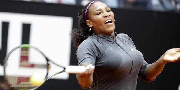 Serena Williams sacrée à Rome pour la quatrième fois - La Libre