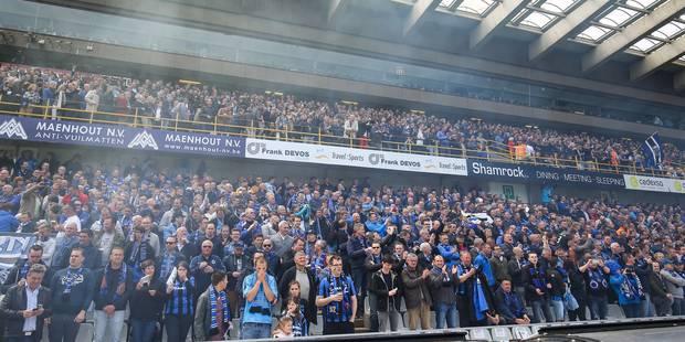 Comment les supporters du FC Bruges ont-ils célébré le titre tant attendu? - La Libre