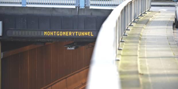 Réouverture du tunnel Montgomery reportée en novembre - La Libre