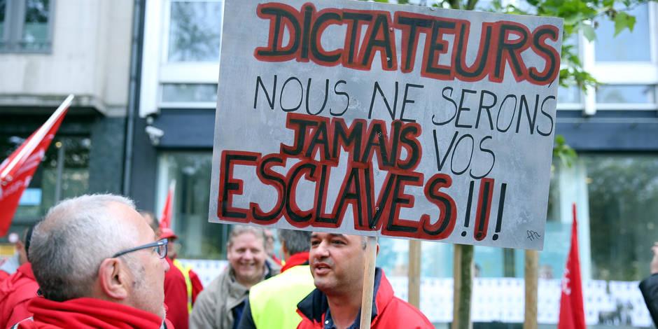 Edito: les actes de vandalisme au ministère de la Justice, révoltant ! - La Libre