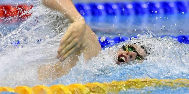 Euro de natation: Glenn Surgeloose, 5e en finale du 200m libre - La Libre