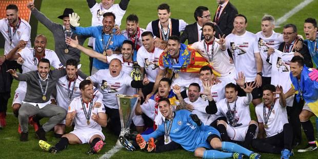 Séville s'offre l'Europa League face à des Reds qui pesteront contre l'arbitrage (3-1) - La Libre