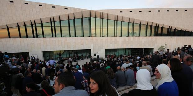 Très beau musée de Palestine? mais vide - La Libre