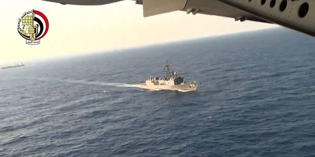 Crash EgyptAir: découverte d'une partie de corps et de débris de l'avion - La Libre