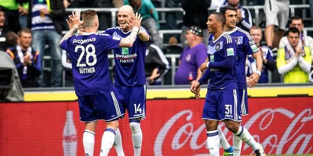 Anderlecht assure sa deuxième place en battant Zulte Waregem (2-0) - La Libre