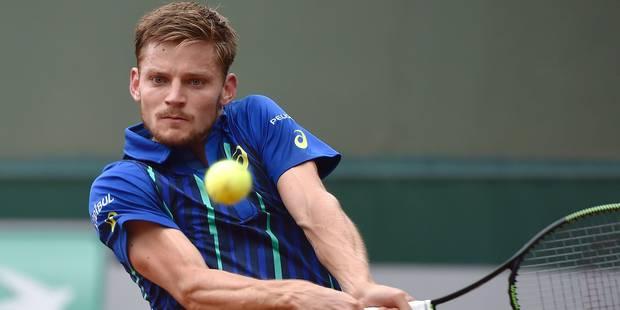 Roland Garros: David Goffin franchit sans problème le premier obstacle - La Libre