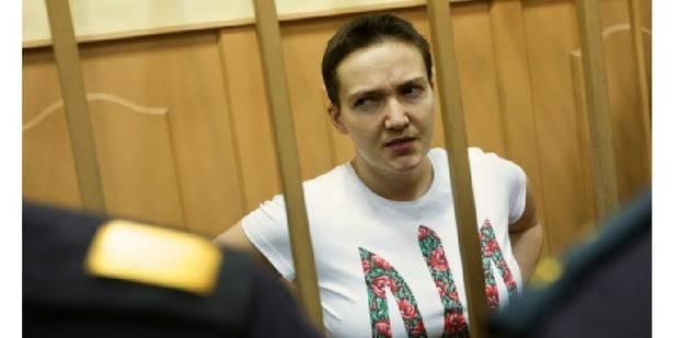 Retour triomphal en Ukraine de la pilote Savtchenko échangée contre deux Russes - La Libre