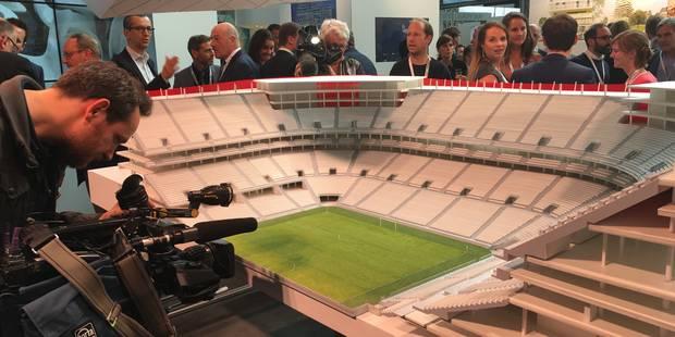 Découvrez les premières photos de la maquette du Stade national - La Libre