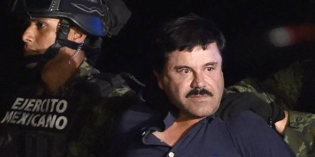 """""""El Chapo"""" menace Netflix pour une série sur sa vie - La Libre"""
