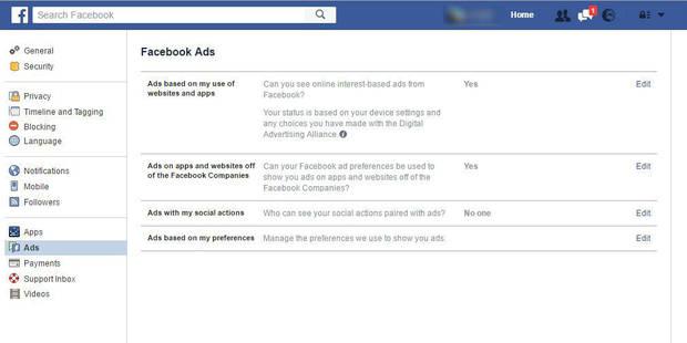Facebook autorise ses membres à refuser les publicités ciblées - La Libre