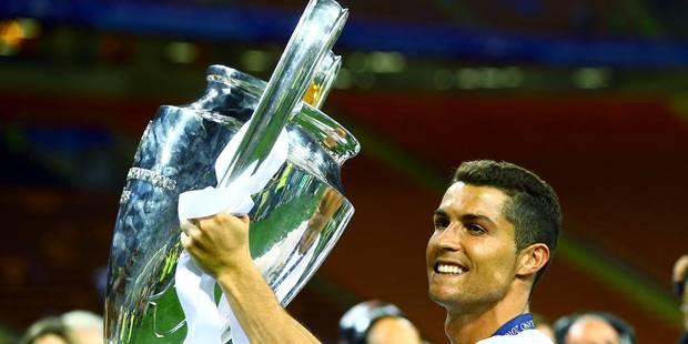 """Cristiano Ronaldo: """"C'était une nuit magique"""" - La Libre"""
