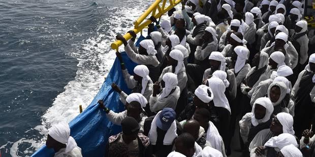 Le HCR redoute la mort de près de 700 migrants en une semaine en Méditerranée - La Libre