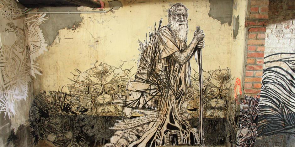 L'art urbain entre deux murs - La Libre