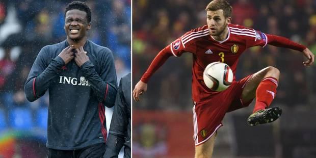 Diables rouges: Boyata forfait pour l'Euro, Lombaerts pas dans les 23, Kabasele rappelé! (Vidéos) - La Libre