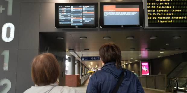 Grève des services publics: circulation des trains et bus paralysée au sud du pays, les transports au ralenti à Bruxelle...