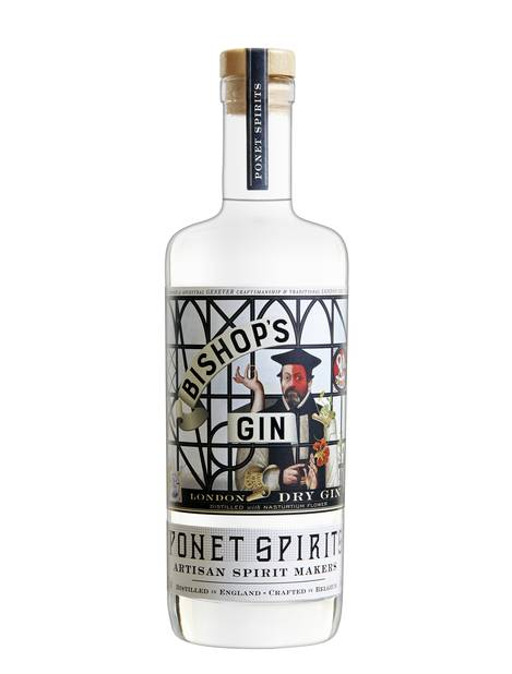 Bishop's Gin de la maison Ponet Spirits - 70 cl à partir de 39€