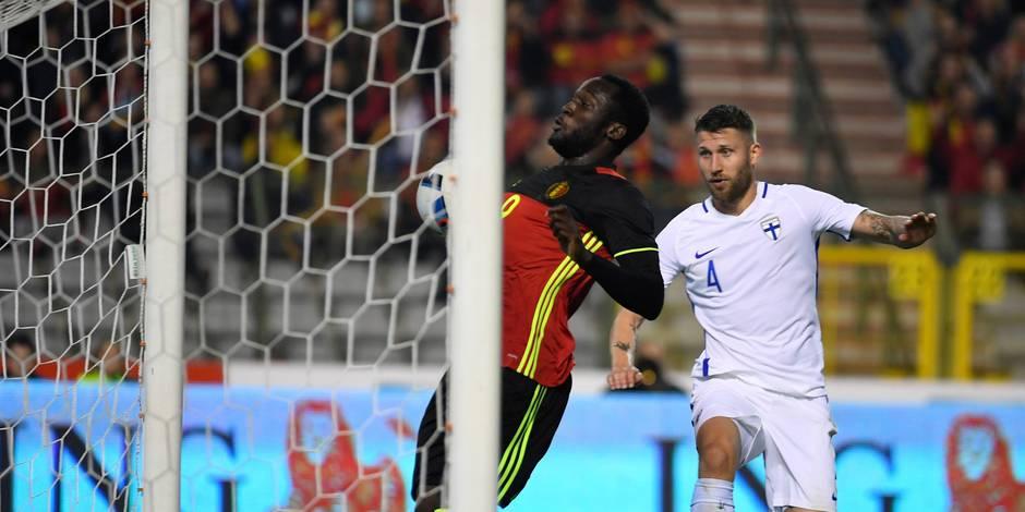 Belgique - Finlande 1-1: Les Diables évitent l'humiliation grâce à Lukaku (VIDEOS)