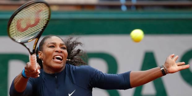 Serena Williams défiera Bertens en 1/2 à Roland-Garros - La Libre