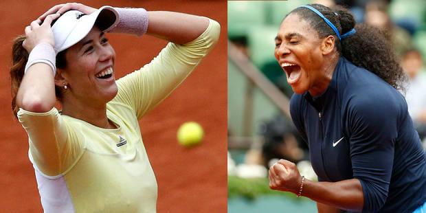 Roland-Garros: Serena Williams affrontera Garbiñe Muguruza en finale - La Libre