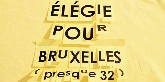 Elegie pour Bruxelles