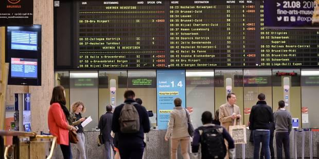 Grève: circulation des trains presque normale, 60% des bus dans la région du Centre - La Libre