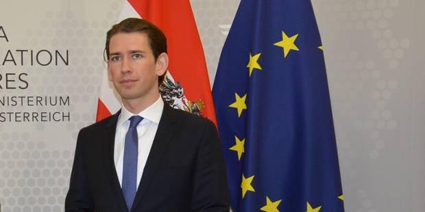 Un ministre autrichien propose de retenir les migrants sur des îles pour les trier - La Libre