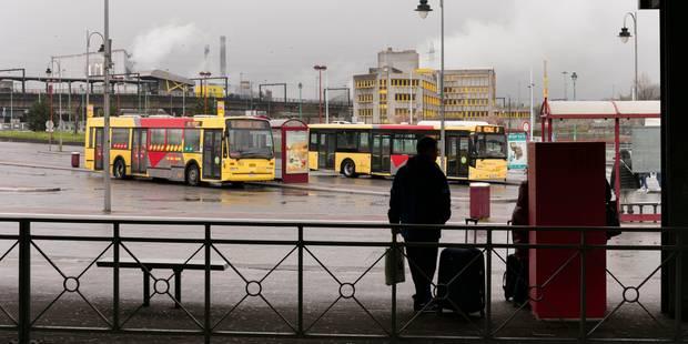 Actions des services publics: les dépôts des TEC à nouveau bloqués à Charleroi - La Libre