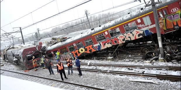 Les principaux accidents ferroviaires en Belgique - La Libre