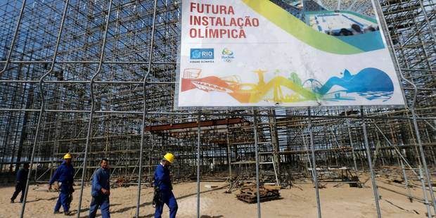 JO 2016: deux tiers des Brésiliens approuvent la tenue des Jeux - La Libre