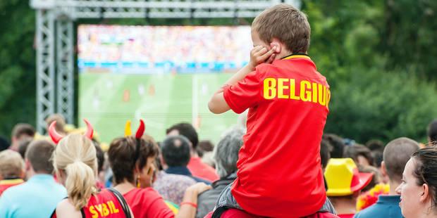 Euro 2016 : Des centaines d'écrans géants en Wallonie et à Bruxelles (Carte interactive) - La Libre