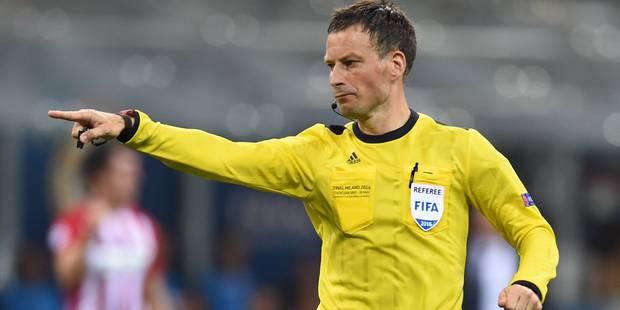 Un des meilleurs arbitres du monde pour Belgique-Italie - La Libre