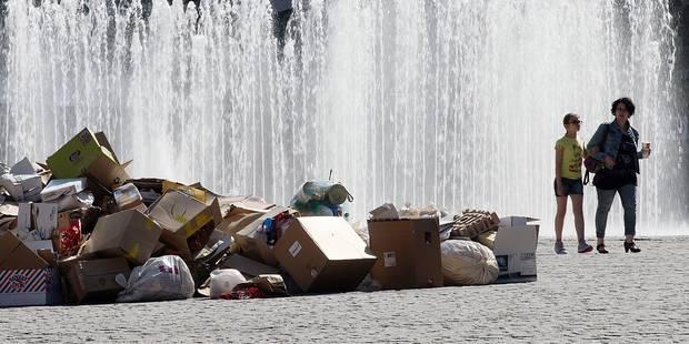 Mons débarrassée de ses ordures - La Libre