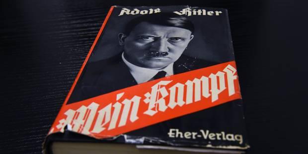 """Un quotidien italien appartenant à la famille Berlusconi offre """"Mein Kampf"""" à ses lecteurs - La Libre"""