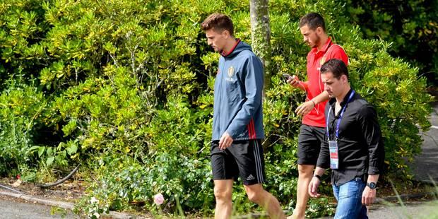 Eden Hazard et les 22 autres Diables à l'entraînement samedi (vidéo) - La Libre