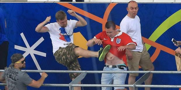 Euro 2016: l'UEFA menace l'Angleterre et la Russie de disqualification - La Libre