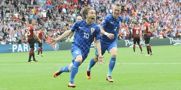 Euro 2016: la Croatie s'impose face à la Turquie grâce à une perle de Modric - La Libre