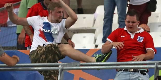 """Frappé par des supporters russes à Marseille, un Belge témoigne: """"J'ai eu de la chance"""" - La Libre"""