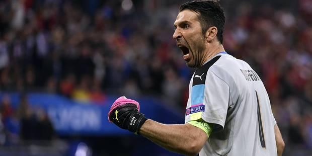 """Buffon: """"Ce n'était pas une grande Italie ce soir, mais c'était une grande victoire"""" - La Libre"""
