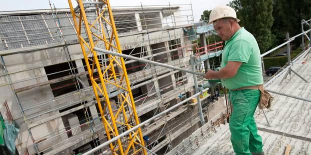 Plus de 20.000 emplois perdus dans la construction depuis 2012 - La Libre