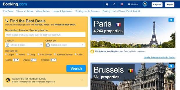 Les hôteliers belges se défendent face à booking.com - La Libre