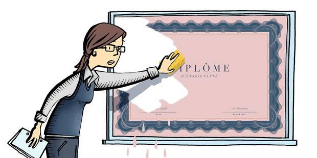 La réforme des titres des profs, quelle aberration! - La Libre
