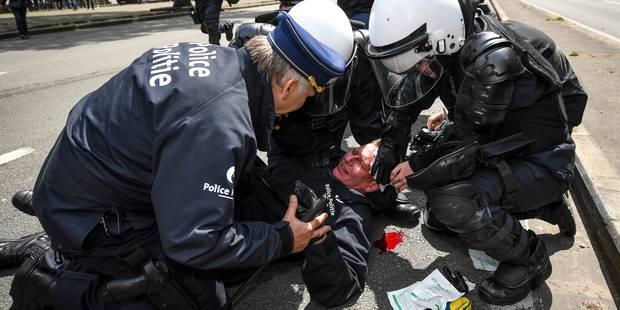 30 mois de prison avec sursis requis à l'encontre de l'agresseur du commissaire Vandersmissen - La Libre