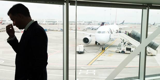 L'aéroport se remet, malgré le climat social pourri - La Libre